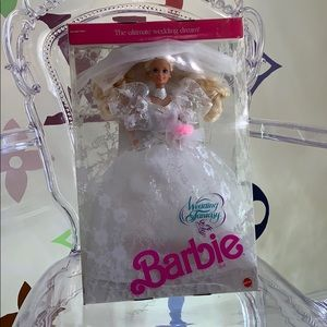 1989 wedding fantasy Barbie in box